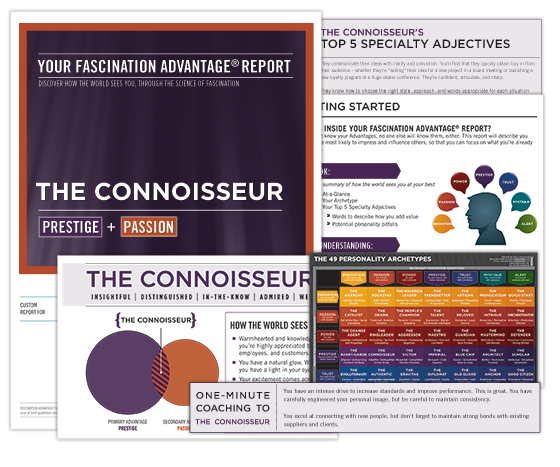 Connoisseur-htf-personality-test-profile